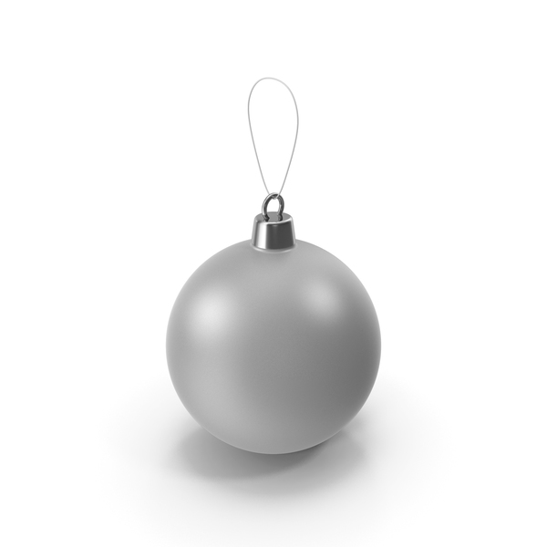 Christmas Tree Toy Grey PNG & PSD Images