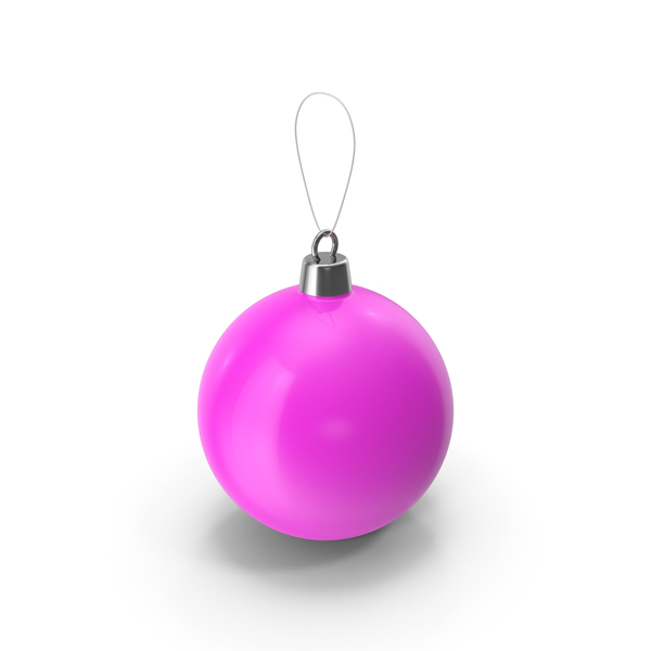 Christmas Tree Toy Violet PNG & PSD Images