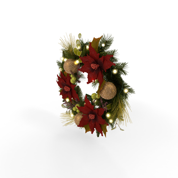 Christmas Wreath Object
