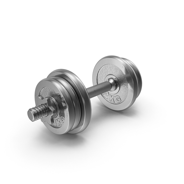 Chrome Dumbbell PNG & PSD Images