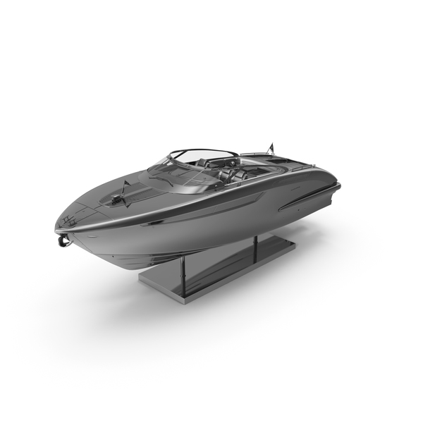 Chrome Pedestal Rivamare Boat PNG & PSD Images