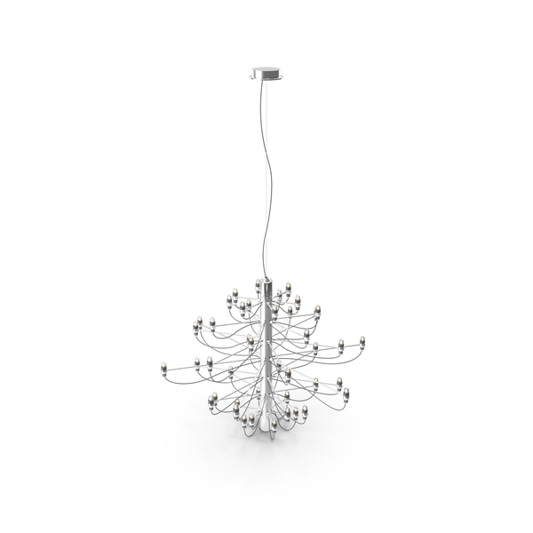 Lamp: Chrome Pendant PNG & PSD Images