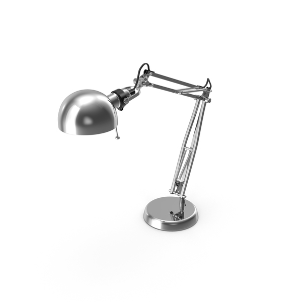 Chromium Desk Lamp PNG & PSD Images