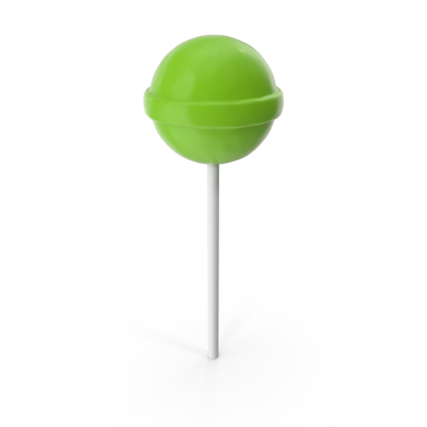 Chupa Chups Lollipop Green PNG & PSD Images