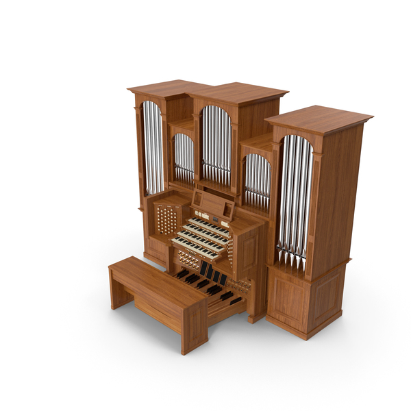 Church Pipe Organ PNG & PSD Images
