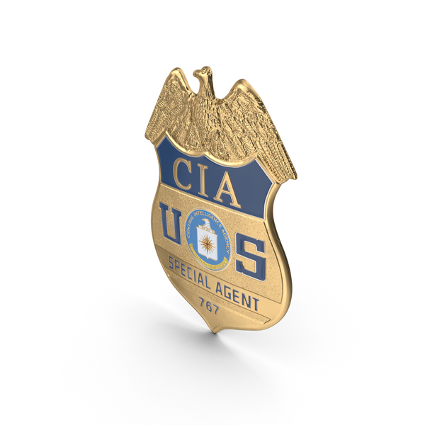 CIA Badge Object