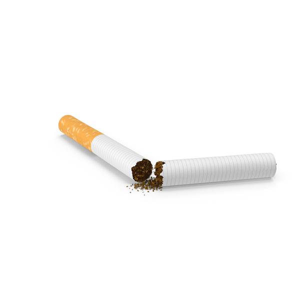 Cigarette Broken PNG & PSD Images