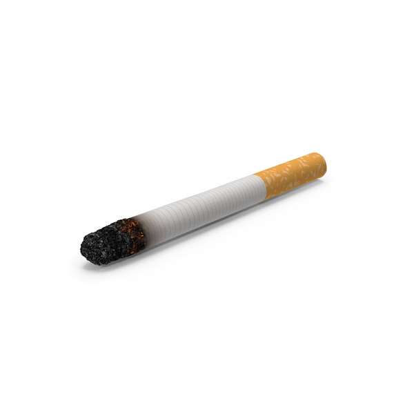 Cigarette Burning With Ash PNG & PSD Images