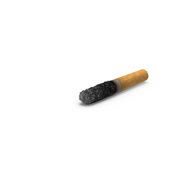 Cigarettes: Cigarette Finished With Ash PNG & PSD Images