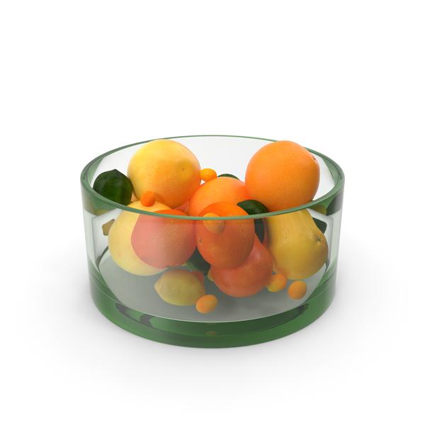 Lemon: Citrus Fruits Glass PNG & PSD Images