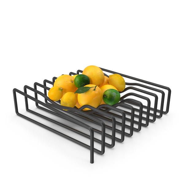 Lemon: Citrus on Rack PNG & PSD Images