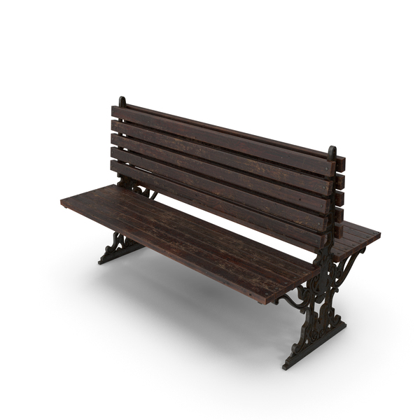 City Bench Damaged PNG & PSD Images