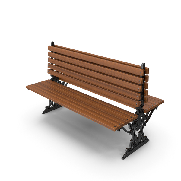 City Bench Oak PNG & PSD Images