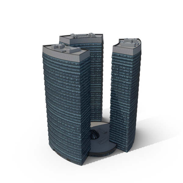 City Skyscrapers PNG & PSD Images