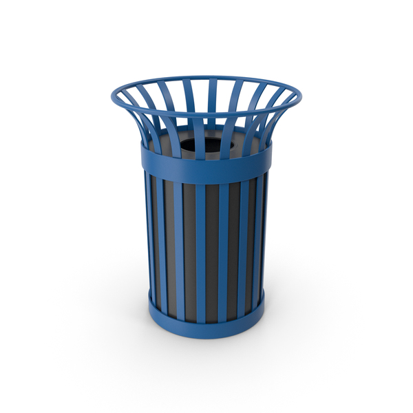 City Trash Bin PNG & PSD Images