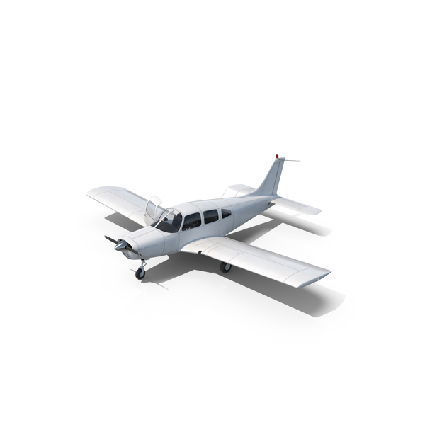 Civil Utility Aircraft Piper PA-28-161 Cherokee PNG & PSD Images