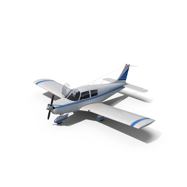 Civil Utility Aircraft Piper PA 28 Cherokee PNG & PSD Images
