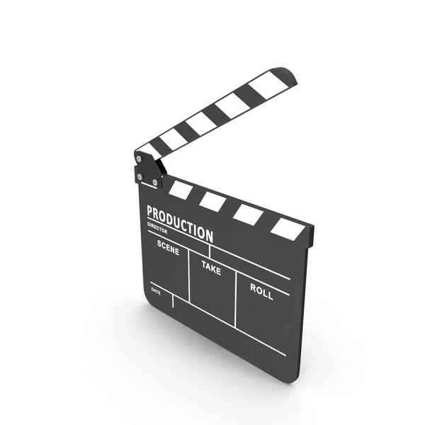 Clapboard Open PNG & PSD Images