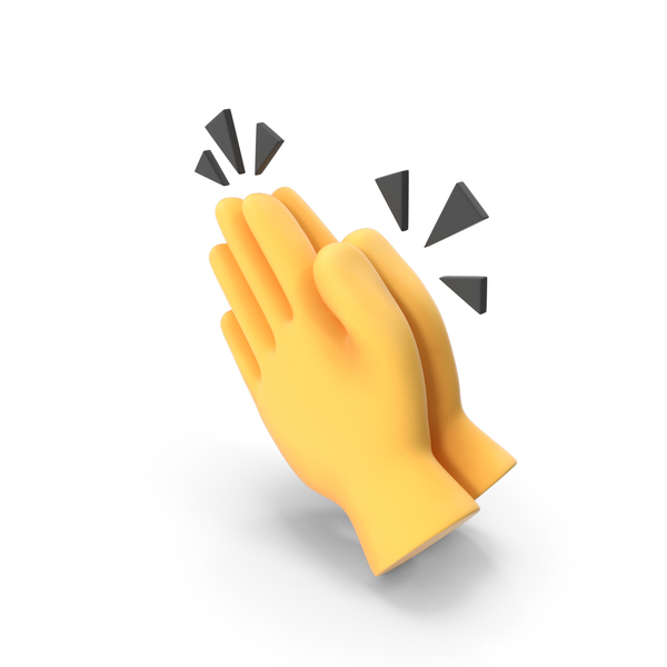 Clapping Hands Emoji PNG & PSD Images