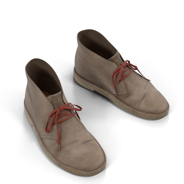 Clarks Desert Boots PNG & PSD Images