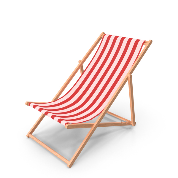 Classic Beach Folding Chair PNG & PSD Images