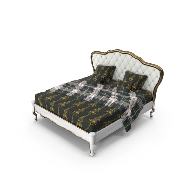 Classic Bed PNG & PSD Images