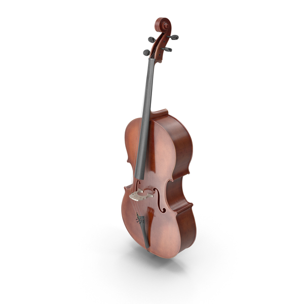 Classic Cello Instrument PNG & PSD Images