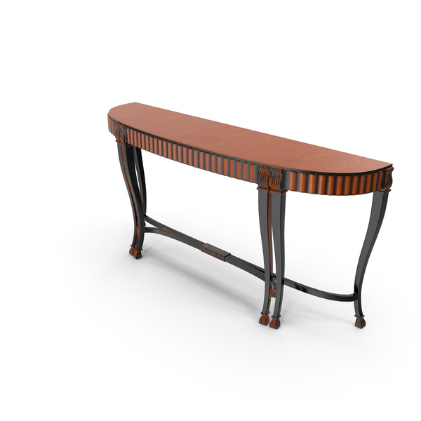 Classic Console Table PNG & PSD Images
