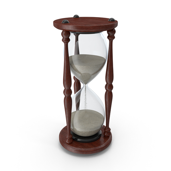 Classic HourGlass Midway Sand PNG & PSD Images