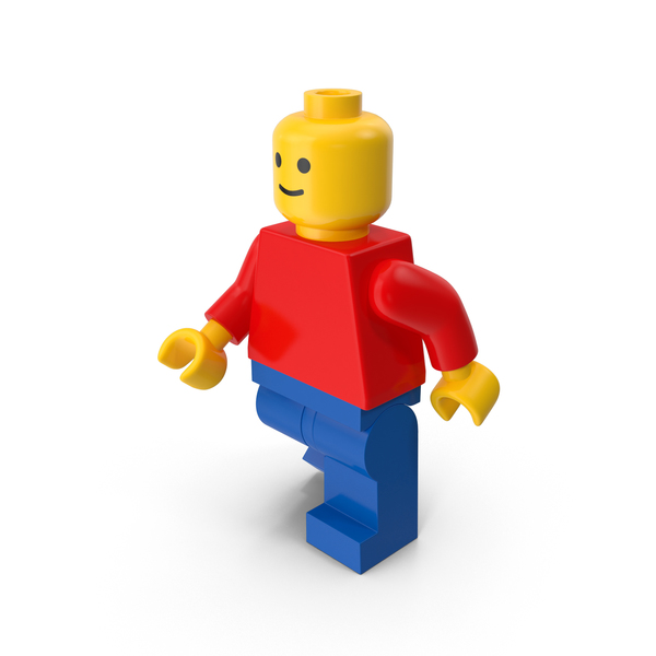 People: Classic Lego Man Object