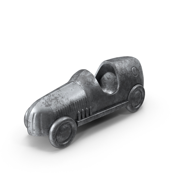 Classic Monopoly Car Piece Object