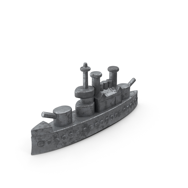 Classic Monopoly Ship Piece Object