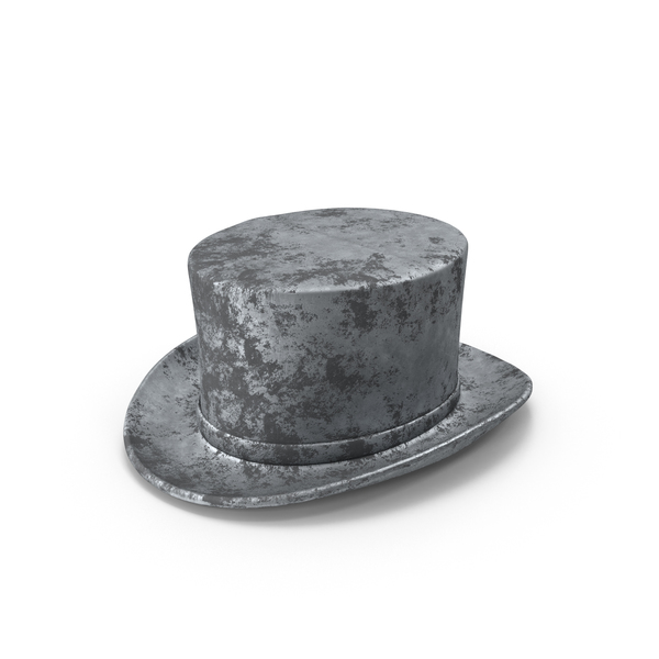 Classic Monopoly Top Hat Piece Object
