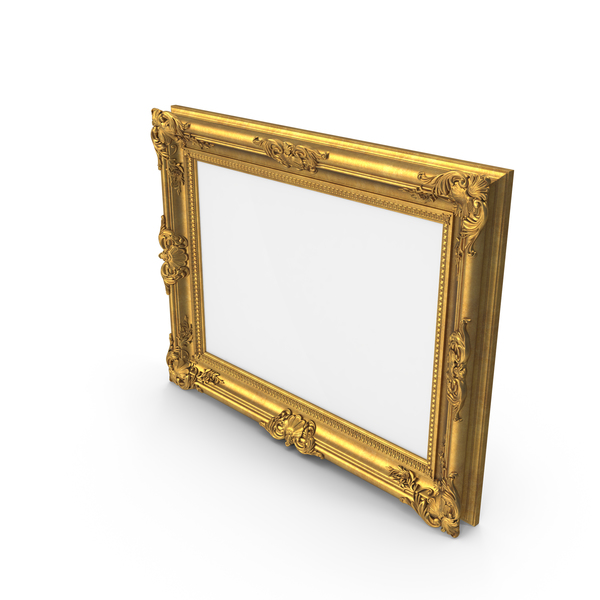 Classic Picture Frame Horizontal PNG & PSD Images