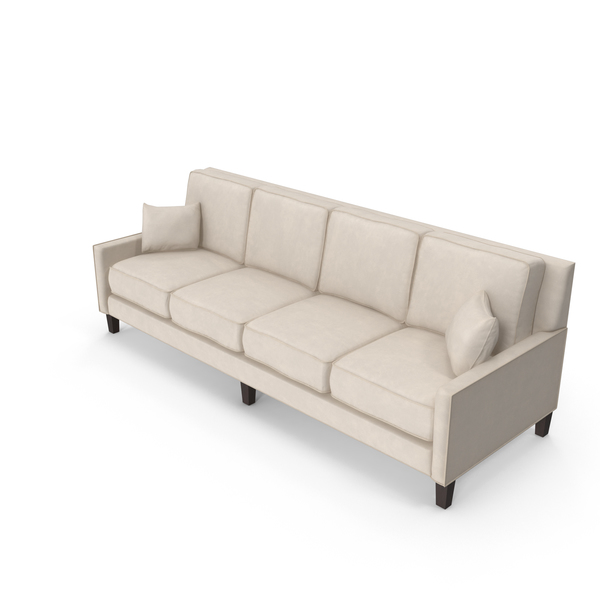 Classical 4 Seater Sofa PNG & PSD Images
