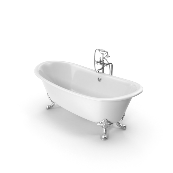 Classical Bathtub PNG & PSD Images