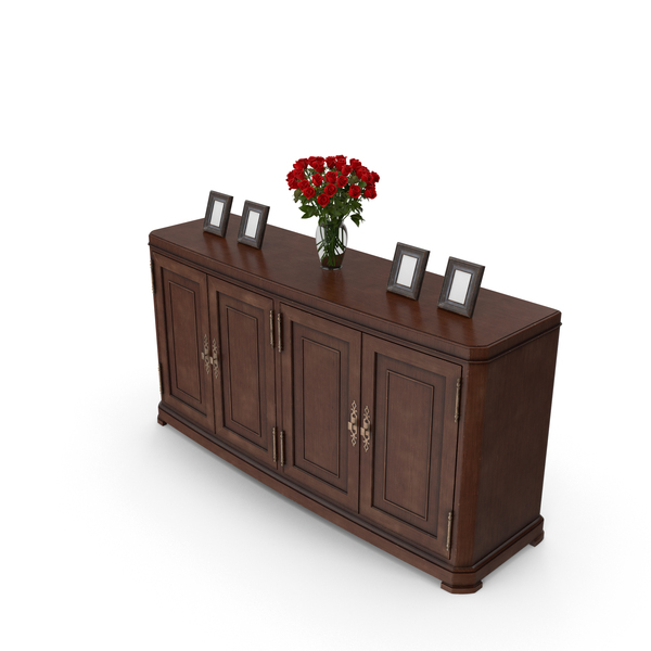 Classical Console Table PNG & PSD Images