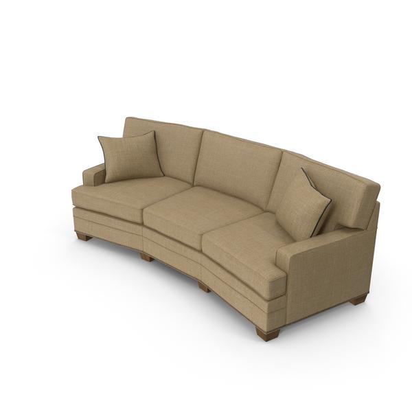 Classical Corner Sofa PNG & PSD Images