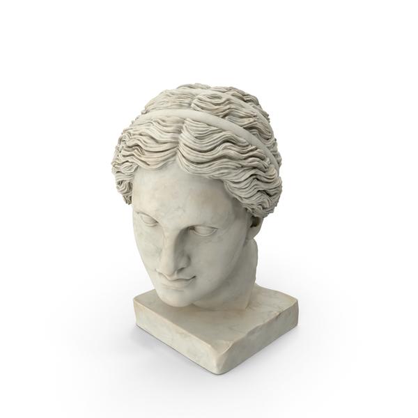 Classical Head Sculptures PNG & PSD Images