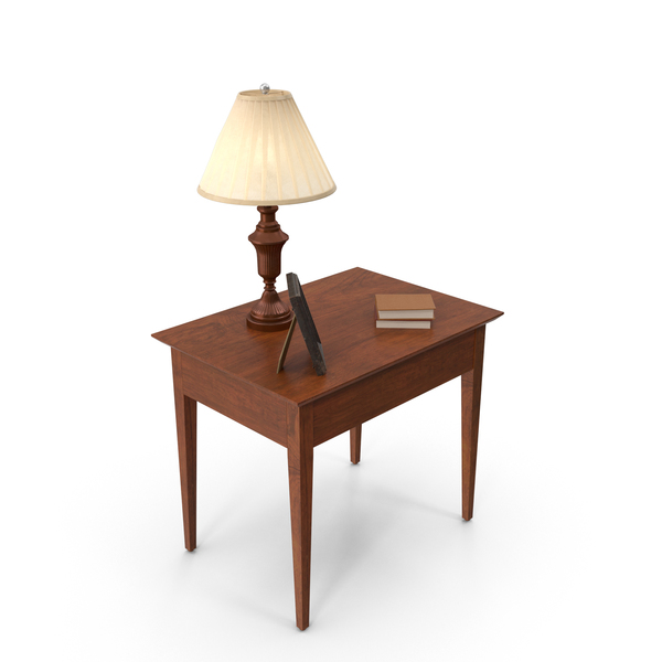 End Table: Classical Living Room Desk PNG & PSD Images