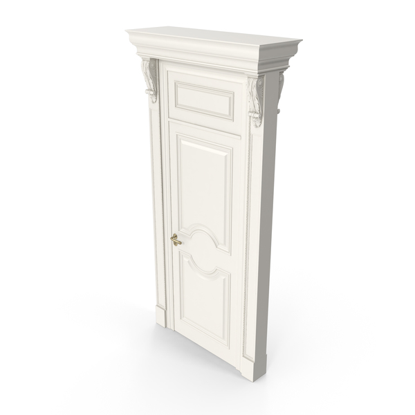 Classical Style Victorian Door PNG & PSD Images