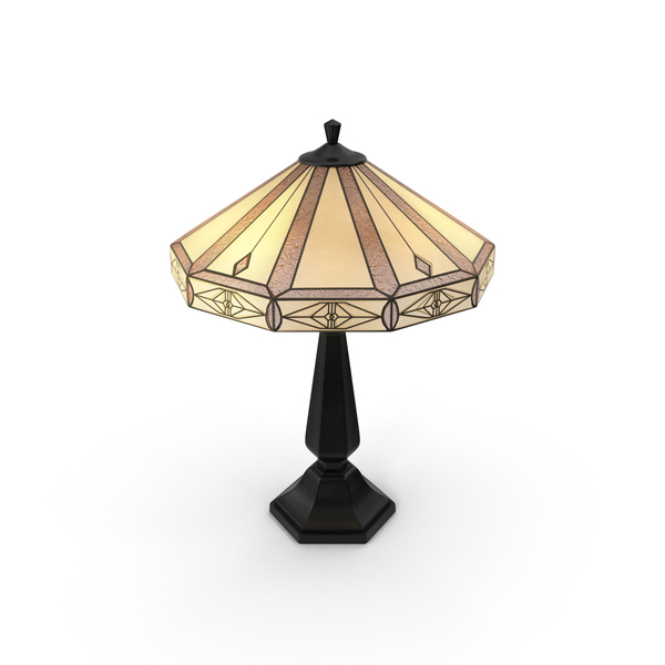 Classical Table Lamp PNG & PSD Images