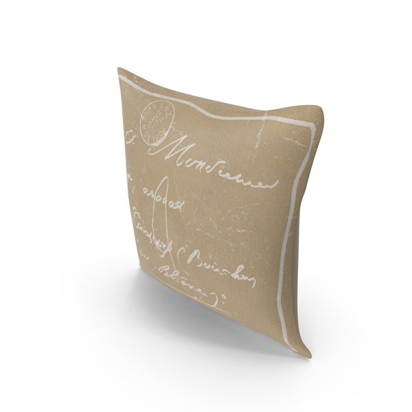 Sofa: Classical Throw Pillow PNG & PSD Images