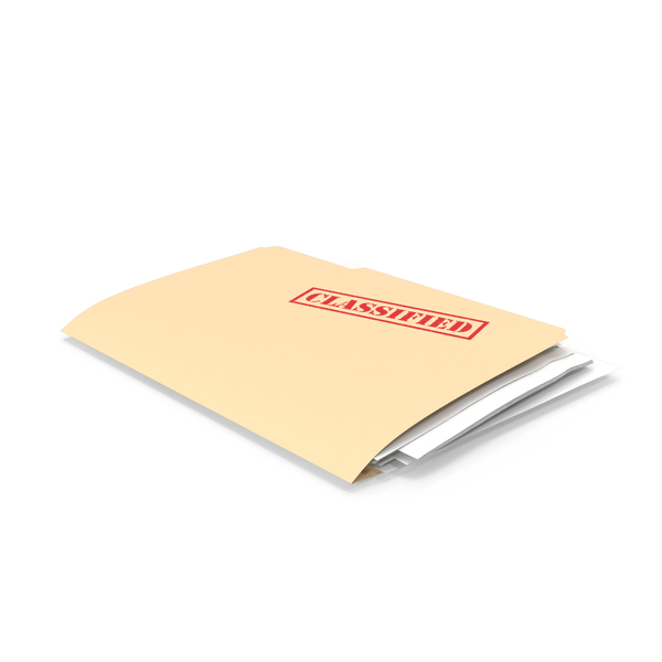 Classified Folder PNG & PSD Images