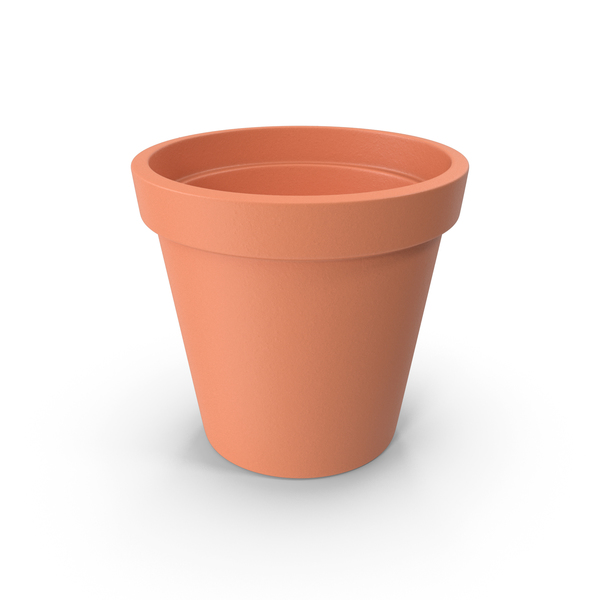 Flower: Clay Ceramic Pot PNG & PSD Images