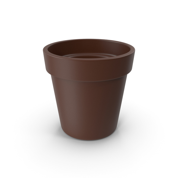 Clay Pot Brown PNG & PSD Images