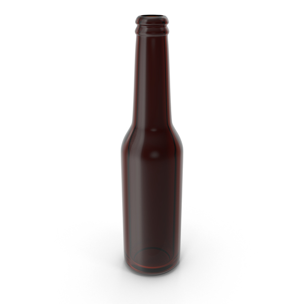 Clean Brown Beer Bottle PNG & PSD Images