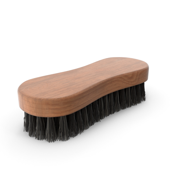 Cleaning Brush Dark Wood PNG & PSD Images