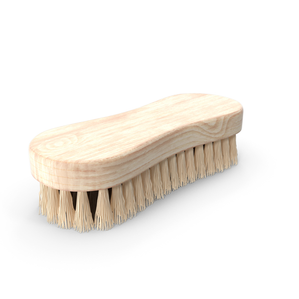 Cleaning Brush Light Wood PNG & PSD Images