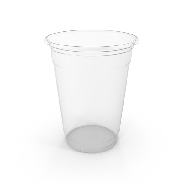 Clear Plastic Cup Object